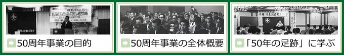 愛知中小企業家同友会50周年記念事業特設サイト