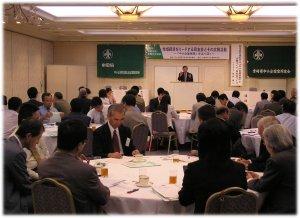 9月16・17日宮崎で行われた「全国広報・情報化交流」で記念講演を行う鋤柄氏