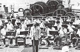 協同組合20周年で実施した伊勢湾クルーズの船上