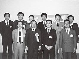 青年同友会合同総会にて(1971年)