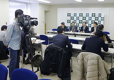 記者との意見交換会より(3月12日)