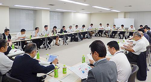 愛知県からは17名、同友会からは15名が出席