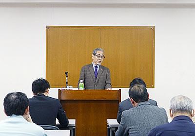 報告する北海道同友会の石橋氏