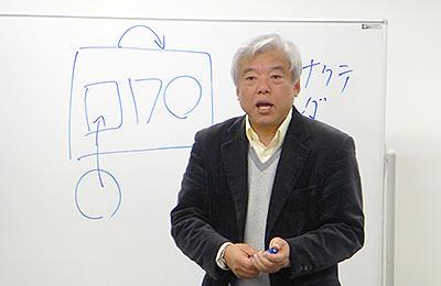 参加者に語りかける山本氏