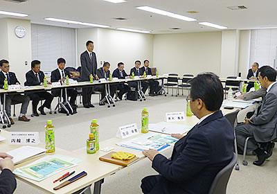 連合愛知との懇談会の様子(3月15日)