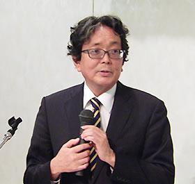 中部学就連会長の伊藤恭彦氏