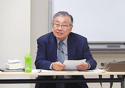 新憲法誕生の背景を歴史的事実から明らかにする森名誉教授